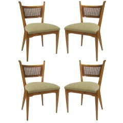 edmond j. spence dining room chairs - 3 for sale at 1stdibs