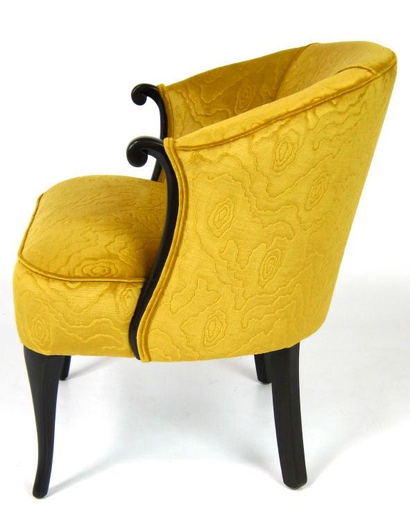 Velvet Boudoir Chair image 2