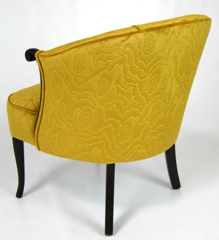 Velvet Boudoir Chair image 3