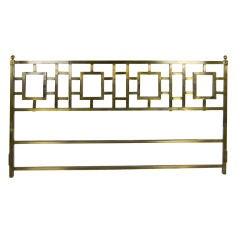Regency Style Brass King Size Headboard
