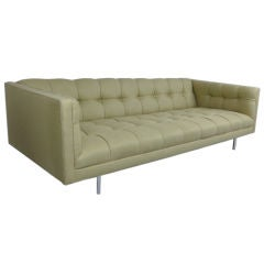 Tufted Sofa by Milo Baughman for Thayer Coggin