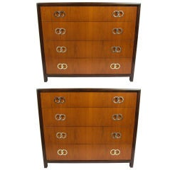 Pair of Bachelor's Chests by Michael Taylor
