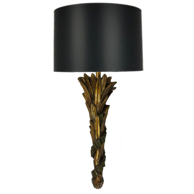 Large Torch Wall Lights : Large Scale NeoClassical Acanthus Torch Wall Sconce For Sale at 1stdibs