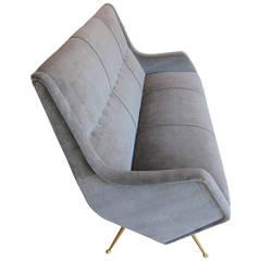 Rare Sofa by Aldo Morbelli, Italy, 1950s