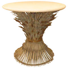 Sheaf of Wheat Center Table, Italy, 1940s