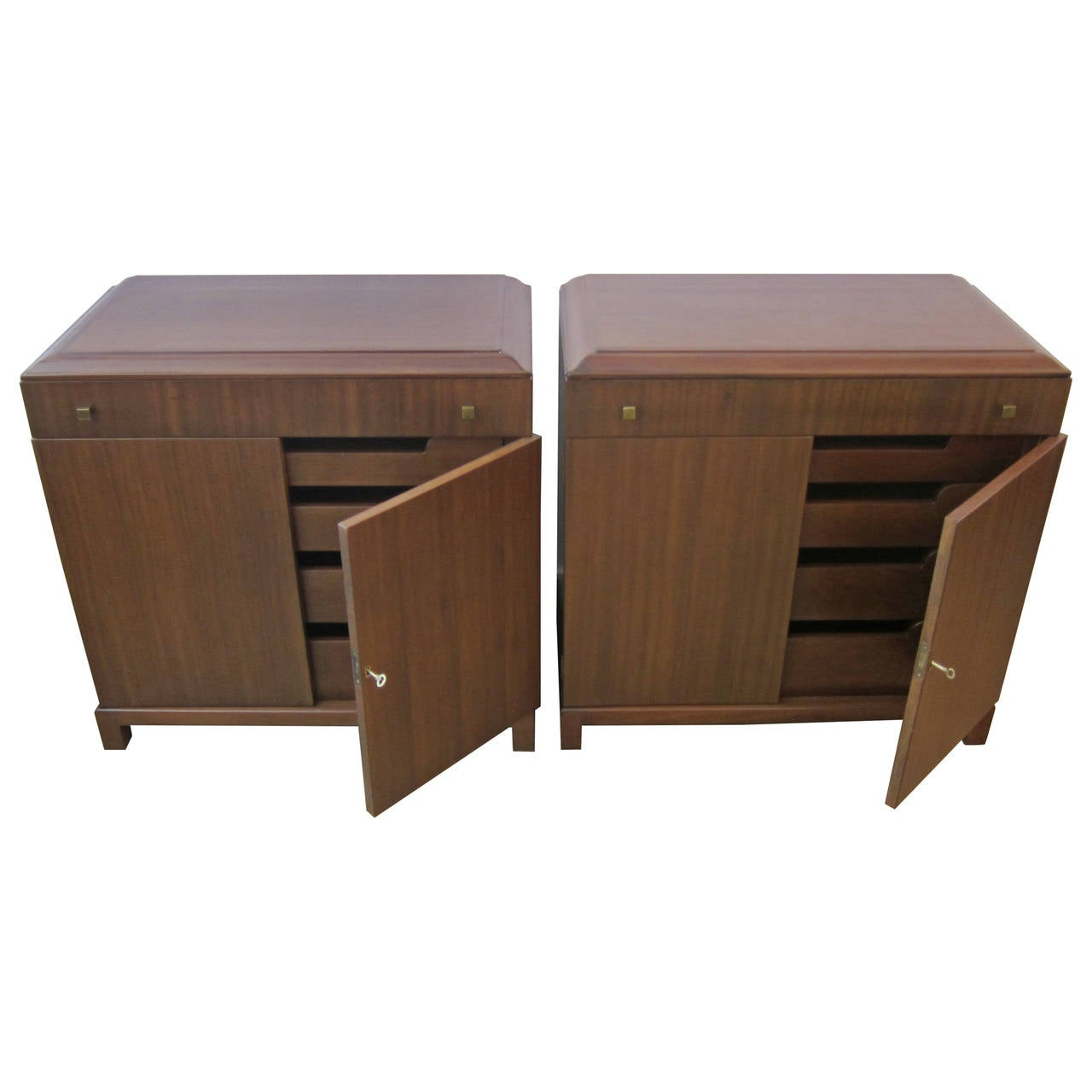 Mid century modern nightstands for sale at 1stdibs for Modern nightstands for sale