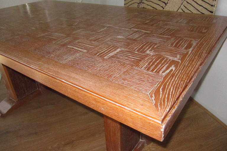 Dining Table Attributed to Audoux Minet, France 1960 4