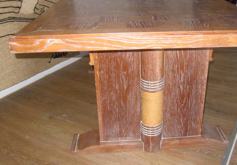 Dining Table Attributed to Audoux Minet, France 1960 6
