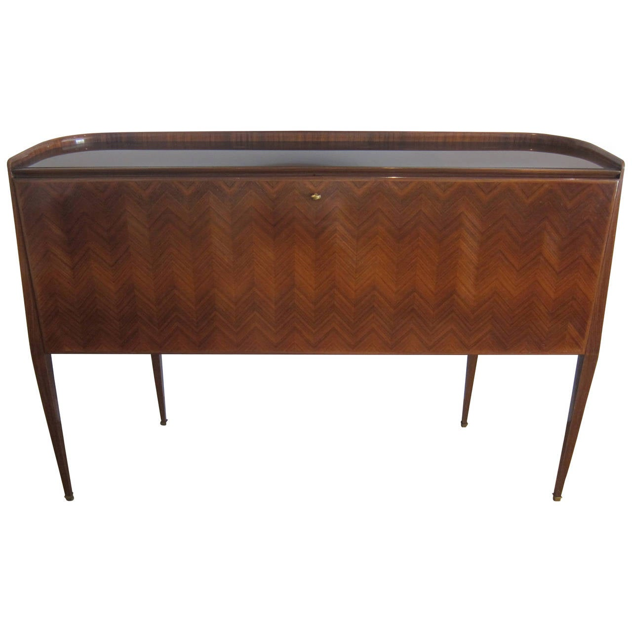 Dry bar cabinet by paolo buffa italy 1950 39 s for sale at for Home dry bar furniture