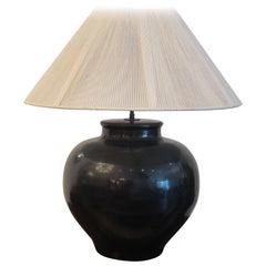 Karl Springer Table Lamp, 1970s.