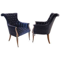 Pair of Grosfeld House Armchairs
