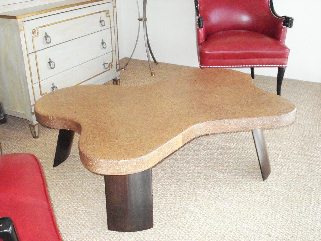 Paul Frankl Cork Top Coffee Table. 3