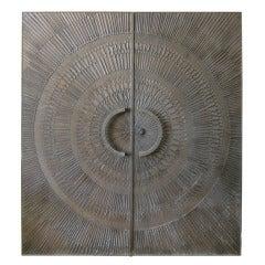 Heroic Sunburst Doors by Billy Joe McCarroll and David Gillespe