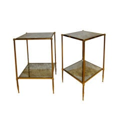 Pair of 2 Tiers end Tables.