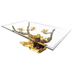 Stunning Bronze Tree Coffee Table.
