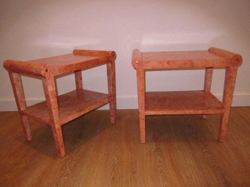 NeoClassical End Tables. image 2