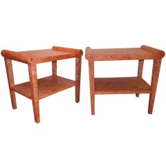 NeoClassical End Tables.