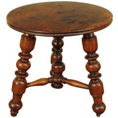 A French Mid 19th Century Louis Philppe Period Walnut Low Table