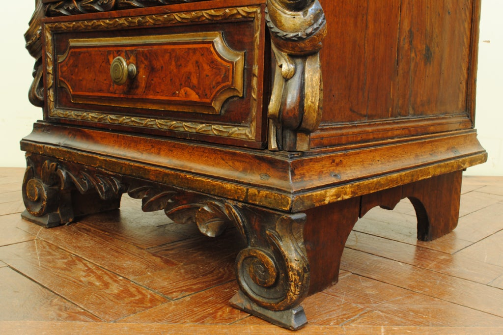 a pair of 18th century and later italian baroque style commodes at 1stdibs. Black Bedroom Furniture Sets. Home Design Ideas