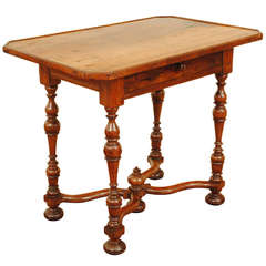 A French Walnut Writing Table, Probably 17th Century