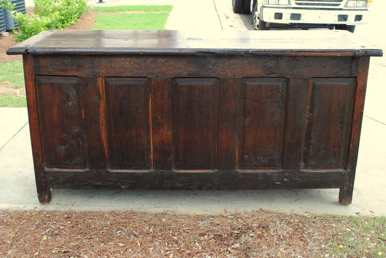 Early 18th century walnut and oak buffet du cuisine at 1stdibs for 18th century french cuisine