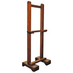 French Walnut Turn-of-the-Century Artist's Easel
