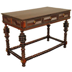 Portuguese Rosewood Center Table