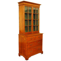 Portuguese Bibliotheque, Polished Pine