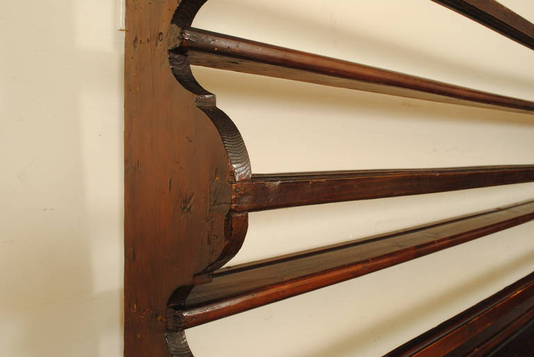 18th Century French Walnut Wall-Mounted Plate Rack at 1stdibs. 18th Century French Walnut Wall Mounted Plate Rack At 1stdibs & Breathtaking Antique French Plate Rack Images - Best Image Engine ...