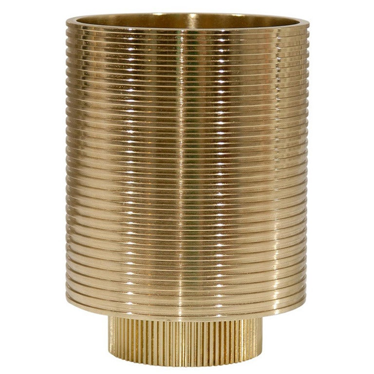 Tom Dixon Cog Wide Pen Pot at 1stdibs