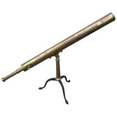19th Century French Telescope by Bardou & Sons, Paris