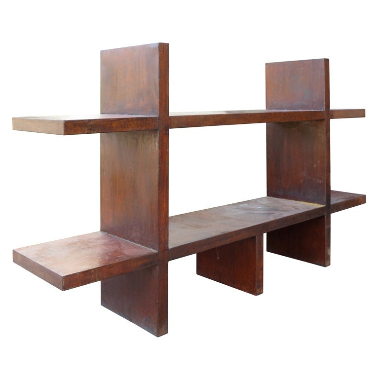 mid century copper modular shelf system at 1stdibs  atlanta mid century modern furniture stores