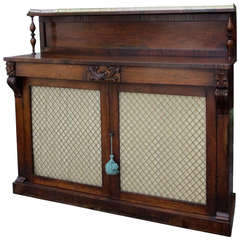 19th Century Regency Rosewood Chiffonier