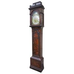 18th-19th Century English W.M. Champ, London Chinoiserie Tall Case Clock