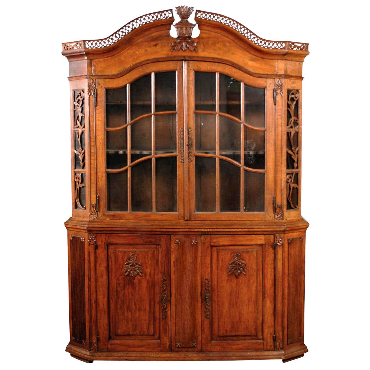 18th Century-19th Century Dutch Vitrine