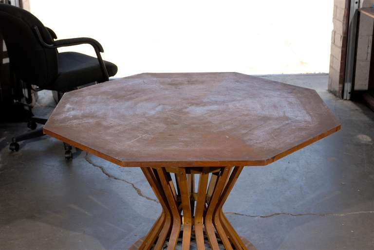 octagonal dining table by edward wormley for sale at 1stdibs