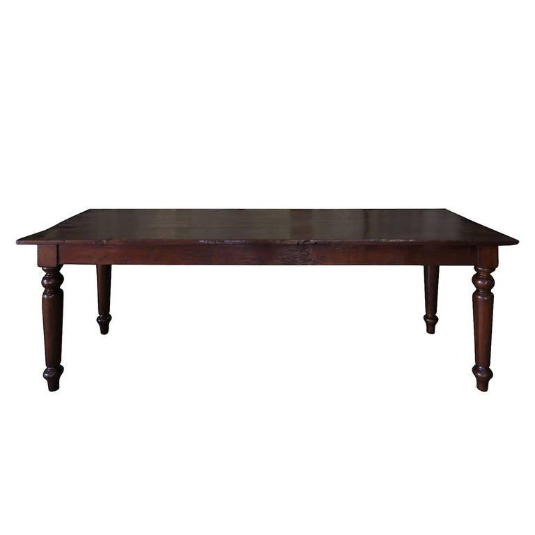 19th Century Oak Hall Table At 1stdibs
