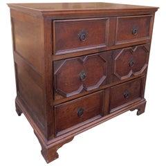 19th Century Jacobean Style English Oak Chest