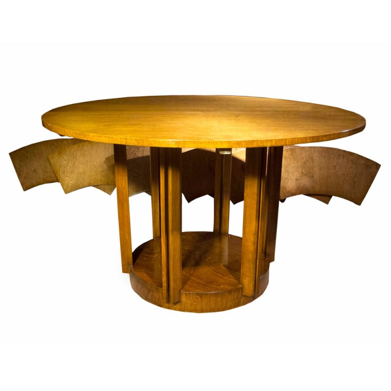 Eliel Saarinen Pedestal Dining Table 1940 At 1stdibs