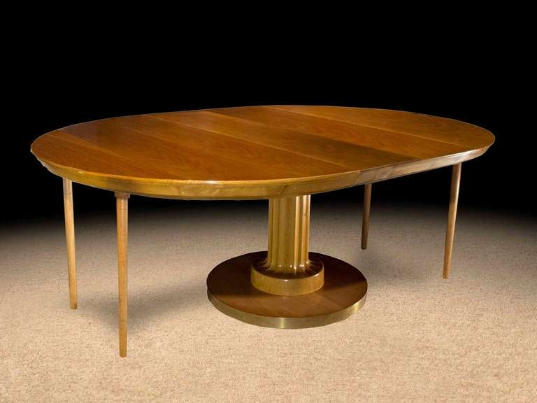 T h robsjohn gibbings dining table 1961 at 1stdibs for Hades dining table th8