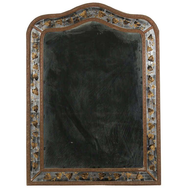 Jansen Eglomise Mirror circa 1940 at 1stdibs : 925506l from www.1stdibs.com size 768 x 768 jpeg 57kB