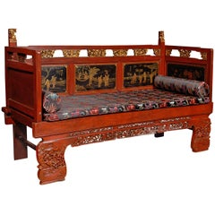 20th Century Chinese Daybed / Settee