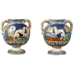Italian Porcelain Vases