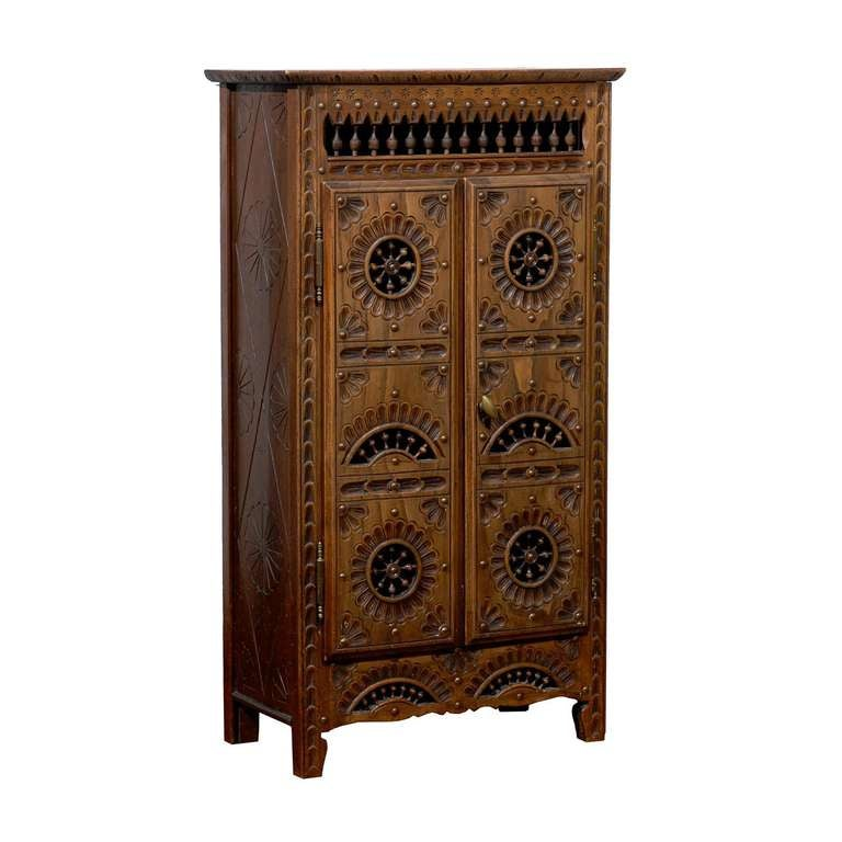 19th century carved cabinet at 1stdibs for 19th century kitchen cabinets