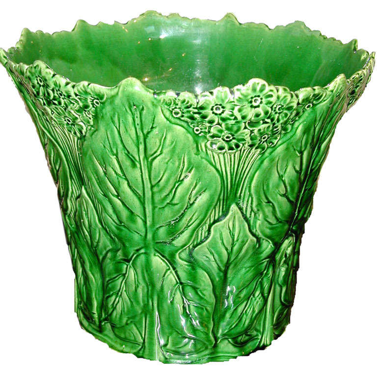 Majolica Planter For Sale At 1stdibs