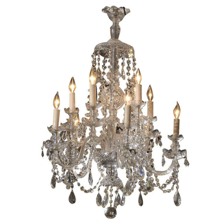 Waterford Style All Crystal Chandelier 1