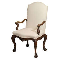 18th C. Italian Walnut Chair