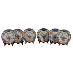Set of 5 Chinese Export Early 18th Century Imari Plates