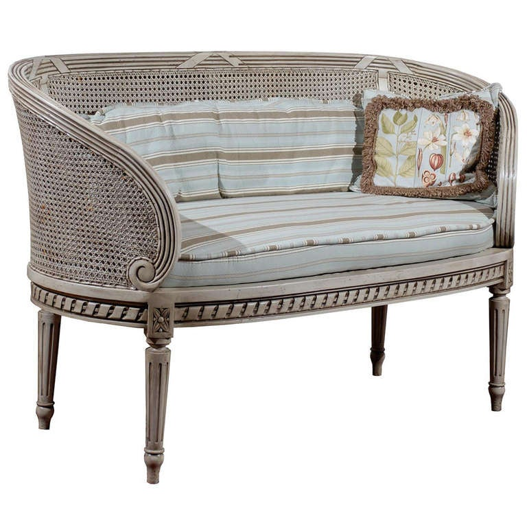 French Settee For Sale At 1stdibs