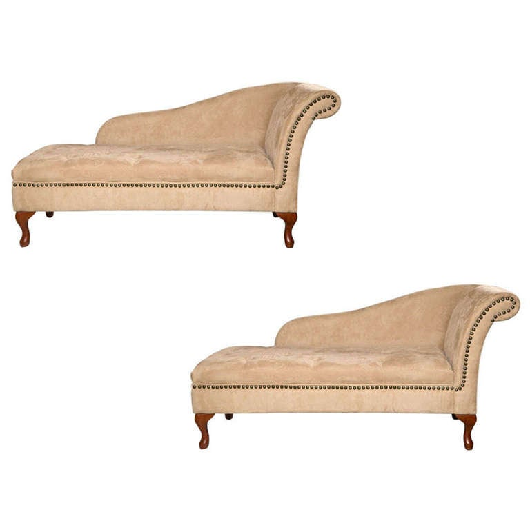 Mid century chaise lounge at 1stdibs for Art nouveau chaise lounge